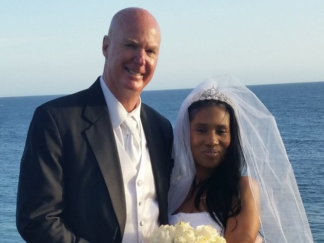Interracial Marriage Monique & Ron - Diamond Bar, California, United States